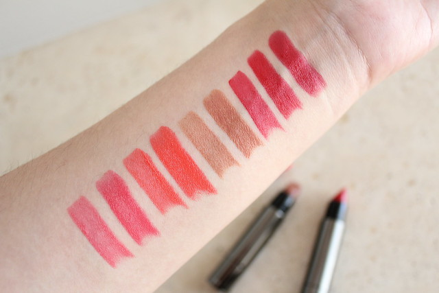 Review + swatches – Burberry Full Kisses lipstick in Light Crimson ...