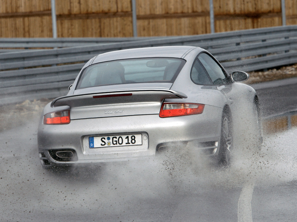 Porsche 911 Turbo Coupe (кузов 997). 2006 – 2008 годы