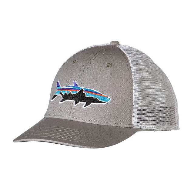 Patagonia logo hat patagonia fly fishing logo hat for Patagonia fish hat