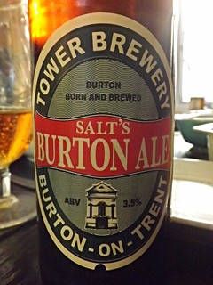 Tower Salt's, Burton Ale, England