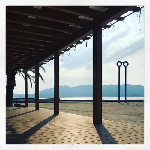 「ビーチでゆるゆる」 #ツーリング #尾道 #しまなみ