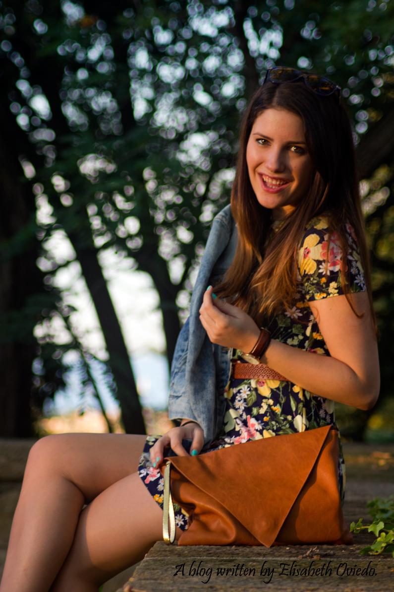 vestido floral chaqueta vaquera denim heelsandroses (9)