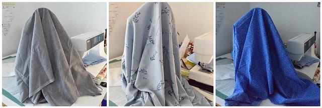 fabric choice mosaic for tunic