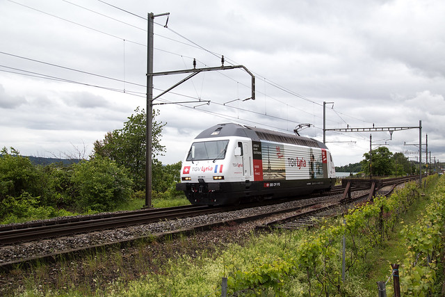 SBB Re 460 086 TGV Lyria bei Ligerz
