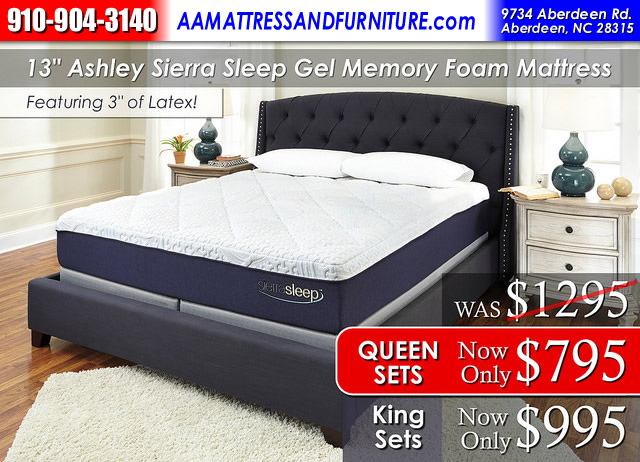 13in Ashley Mattress WM