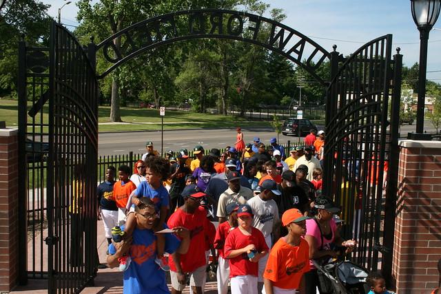 2016 Baseball Kickoff Parade