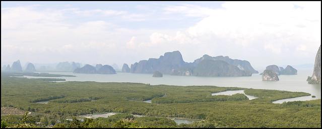Samet Nangshe View Panorama
