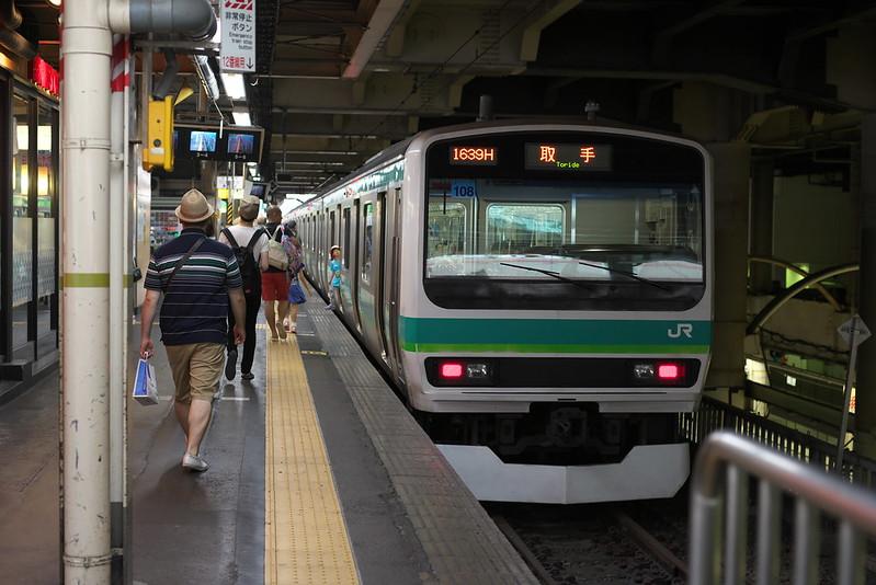 Tokyo Train Story 2016年7月16日