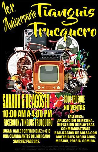 Sabado 6 de Agosto: 1er. Aniversario Tianguis Truequero #OaxacaHoy #OaxacaNow #MercadosDeOaxaca