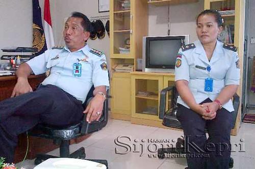 Ka Lapas Kota Tanjungpinang, DJoko Pratito dan Dokter Lapas Kelas II Tanjungpinang