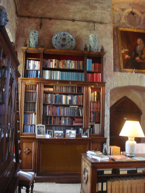 Markenfeld Hall Library