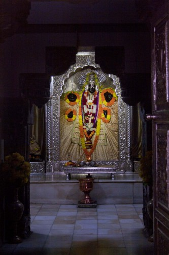 Lord Vishnu, Shri Bharat Temple in Rishikesh, Uttarakhand, India