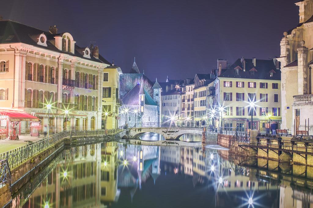 Annecy, Quai Eustache Chappuis