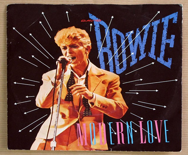 "DAVID BOWIE MODERN LOVE 7"" 45RPM PS SINGLE VINYL"