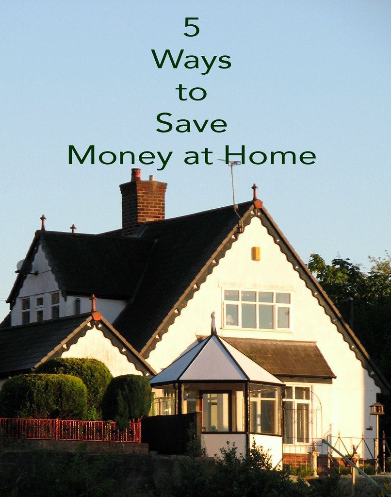 5 ways to save money at home