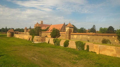 Malbork Castle - On the Road to Augustow, Poland