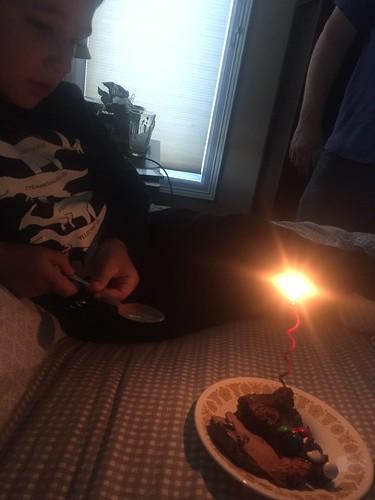 Quieter birthday celebrations