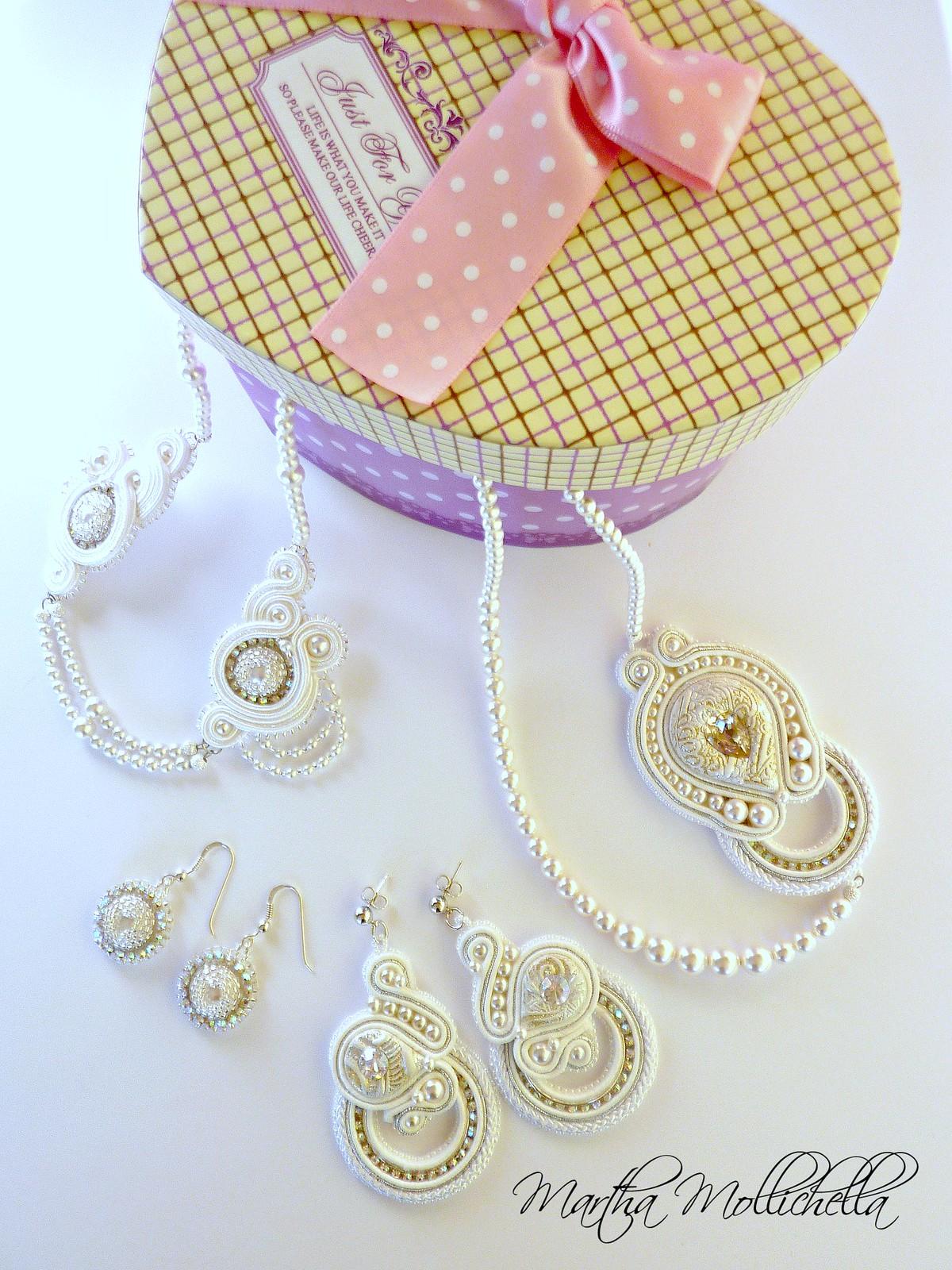 bridal jewelry gioielli sposa personalizzati fatti a mano da Martha Mollichella