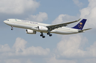 F-WWKQ / HZ-AQ13 - Airbus A330-343 - Saudi Arabian Airlines - msn 1729