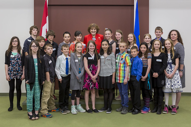 April 19, 2016 - School at the Legislature, Women's Suffrage Centennial Event