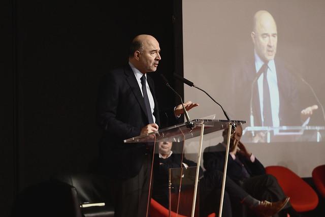 Pierre Moscovici - Salon du Livre de Paris 2015