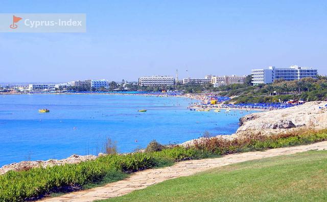 Пешеходная тропа вдоль восточного побережья Ай-Напы, Пляж Аммос Кмбури, Кипр