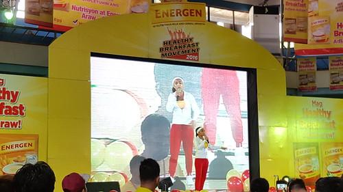 Rochelle Pangilinan at Energen Healthy Breakfast Movement | Davao City Recreation Center (Almendras Gym) June 18, 2016 - photo by DavaoLife.com