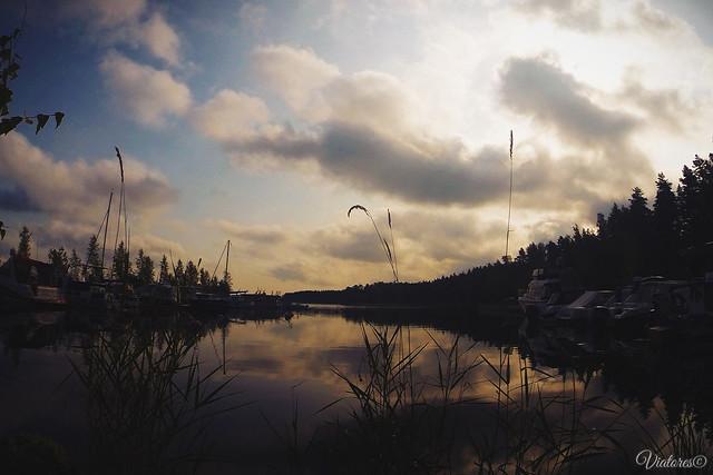 Saimanrantaa. Lappeenranta. Finland
