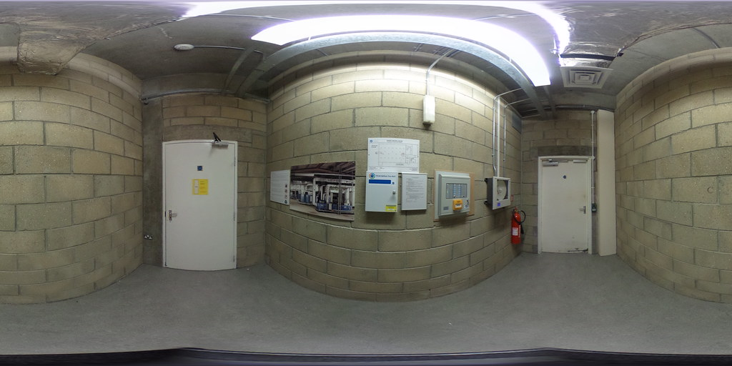360 Dorset History Centre repository air lock