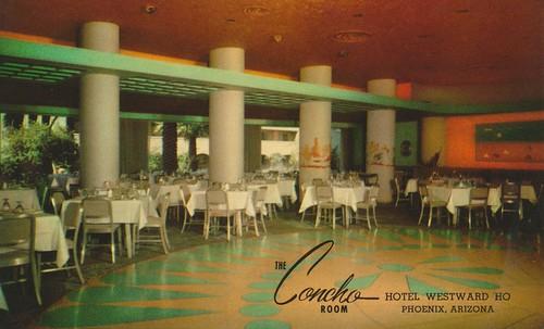 Hotel Westward Ho Phoenix Arizona The Concho Room A