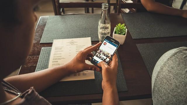 Redes sociales para restaurantes instagram