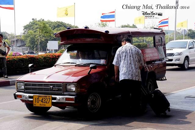 Thailand - Chiang Mai Airport Tuk Tuk 01