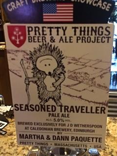 Pretty Things (Caledonian), Seasoned Traveller, USA (Scotland)