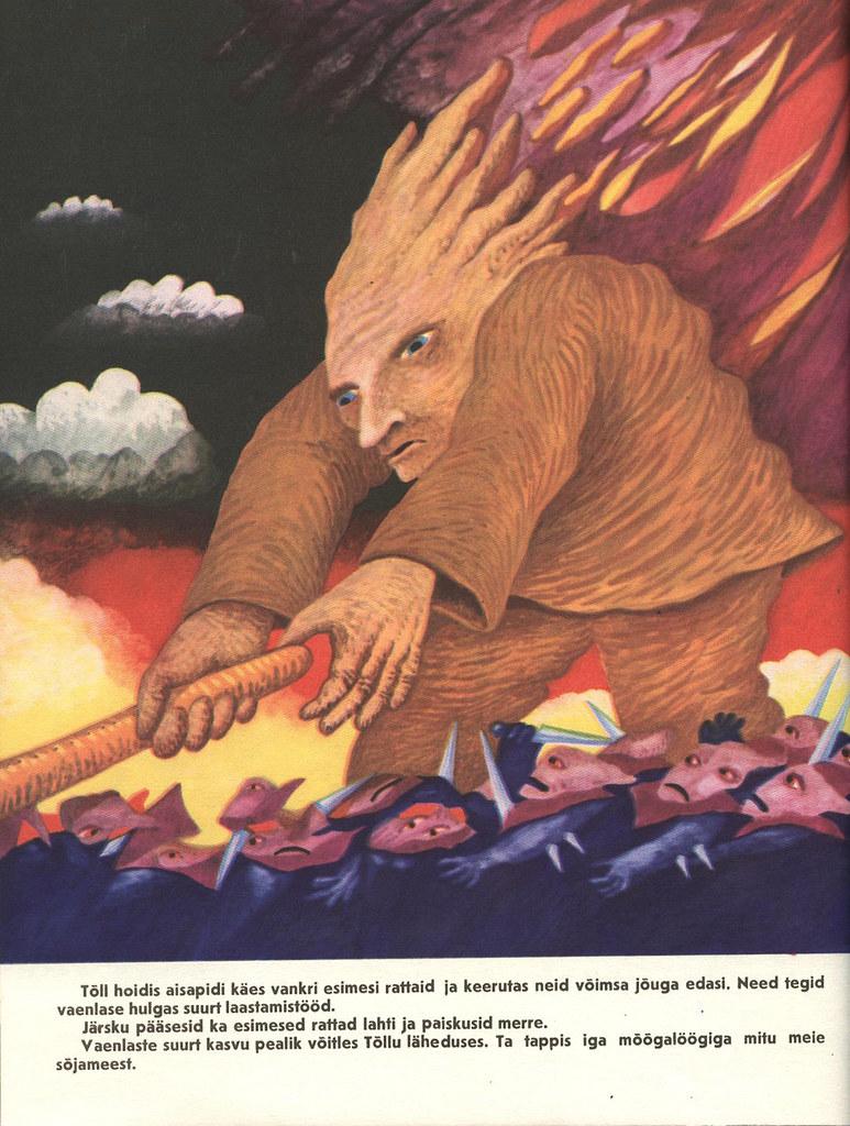 Tõll the Great - Page 21 - Written by Rein Raamat, Illustrated by Jüri Arrak, 1982