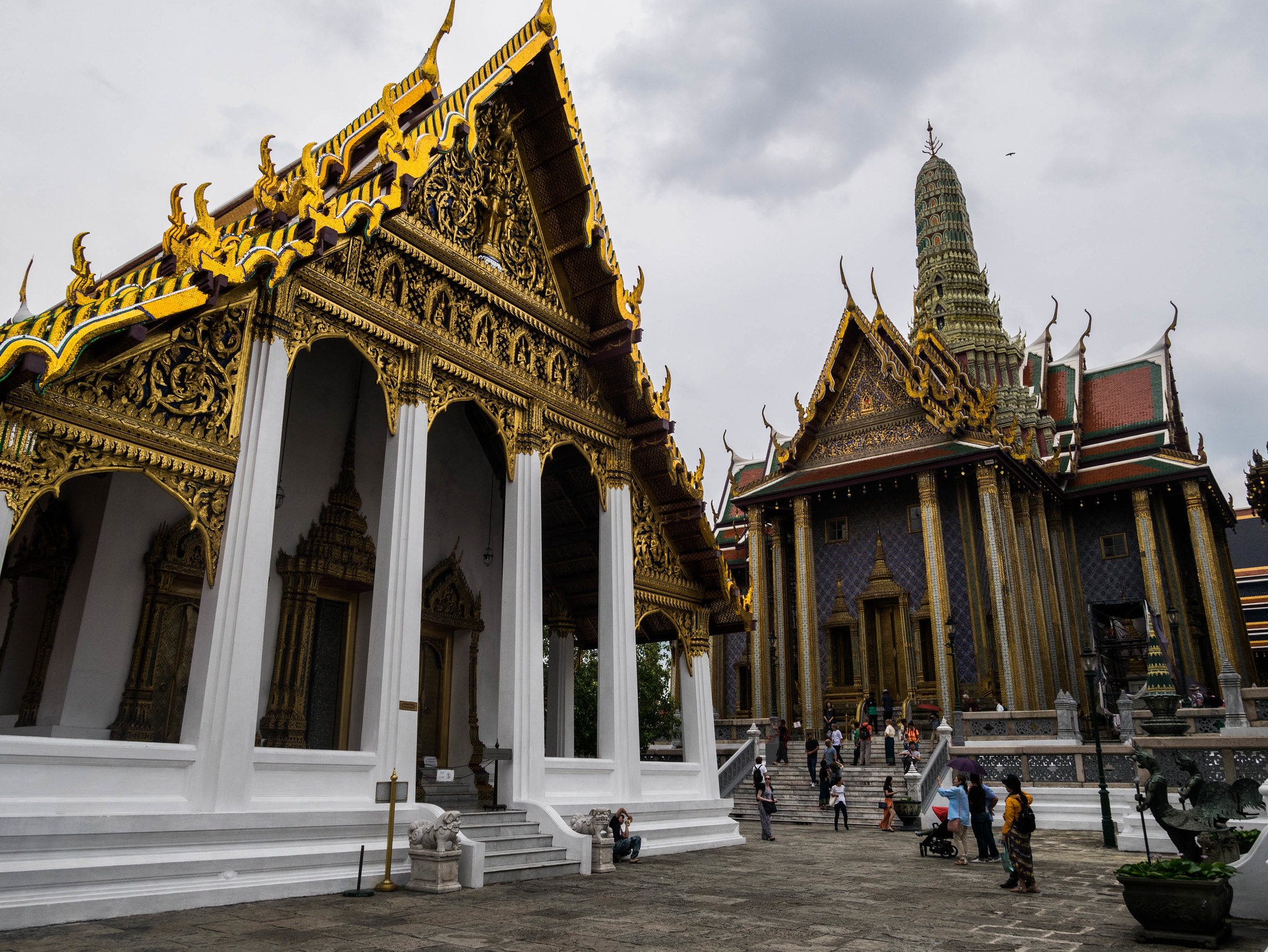 Impressive point of view at Grand Palace