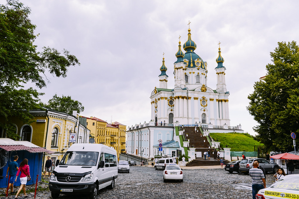 Travel | St. Andrew's Church Kiev | Kiev | Ukraine