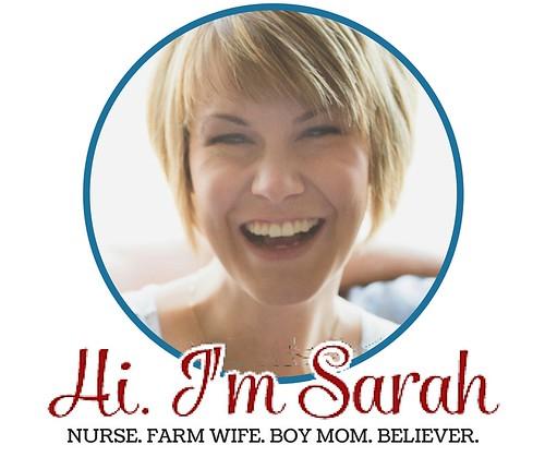 Hi. I'm Sarah
