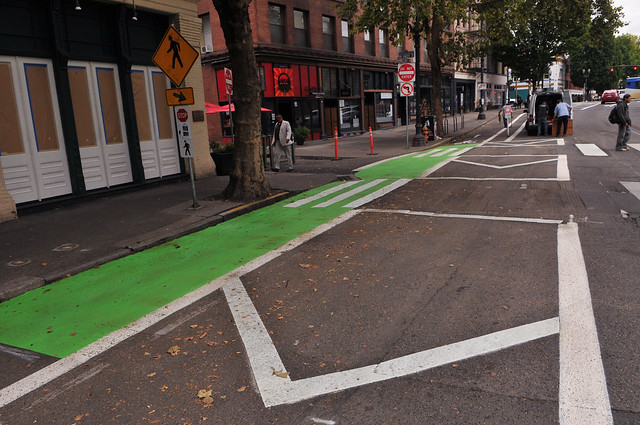 New bikeway on SW 2nd Avenue-25.jpg