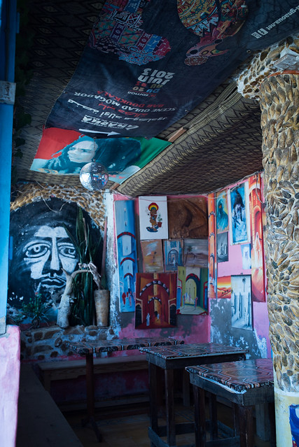 Jimi Hendrix Cafe in Diabat, Morocco, Aug 2016 (35mm) -00087