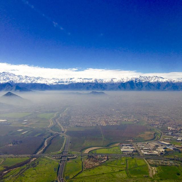 Santiago Aerial Shot