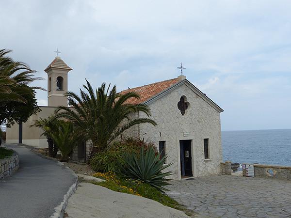 la chapelle de Bordighera