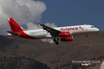 Avianca A320 CUZ (Juan Manuel Temoche)