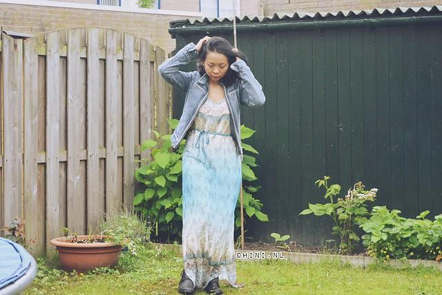 Geisha maxi jurkje