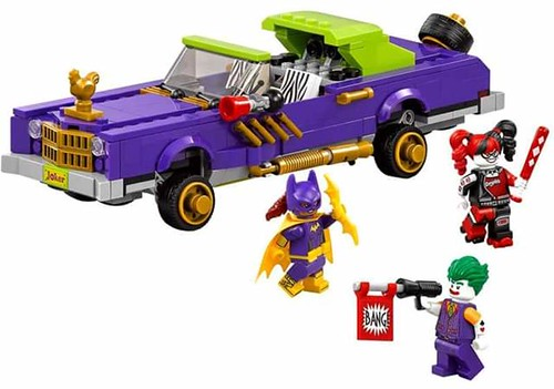 The LEGO Batman Movie The Joker's Notorious Lowrider (70906)