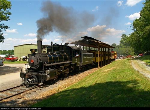 Porter #9 at Handy Dandy Railroad, Denton, NC