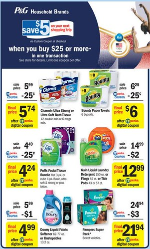 Great Deals on PG Household Brands
