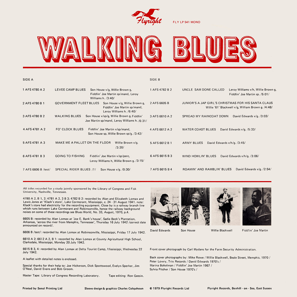 Various Artists - Walking Blues