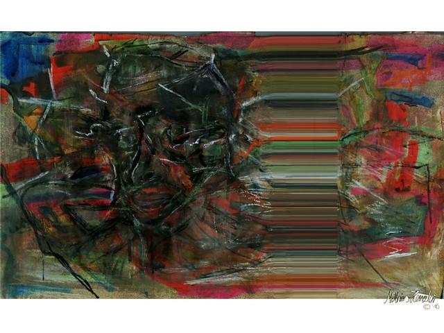 Licht- Sicht- -ung | zwei | matthiashenzler.de | malerei20160430-MatthiasHenzler-Malerei-