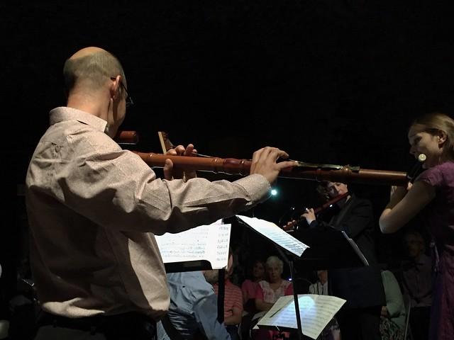 Bass Baroque Flute