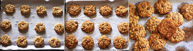 How to make Eggless Oatmeal Raisin Cookies Recipe - Step10